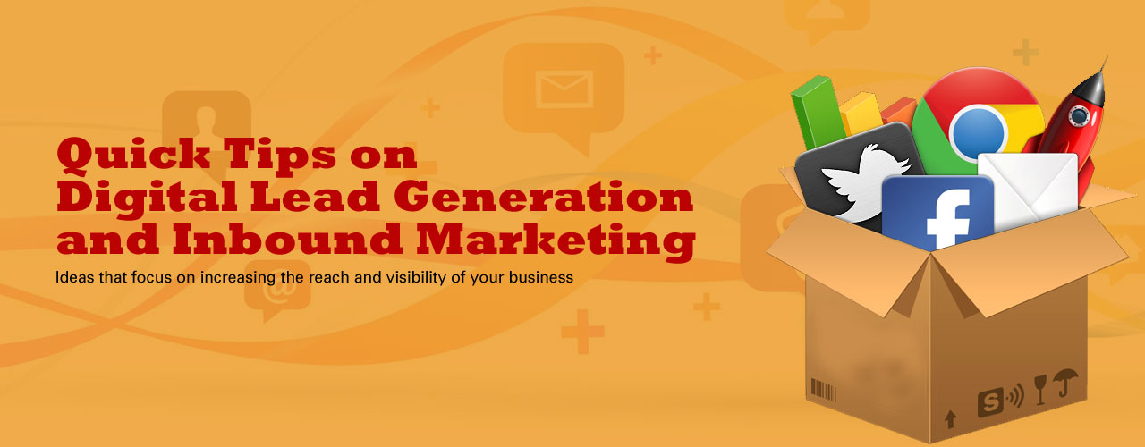 Online Lead Generation - Digital Marketing