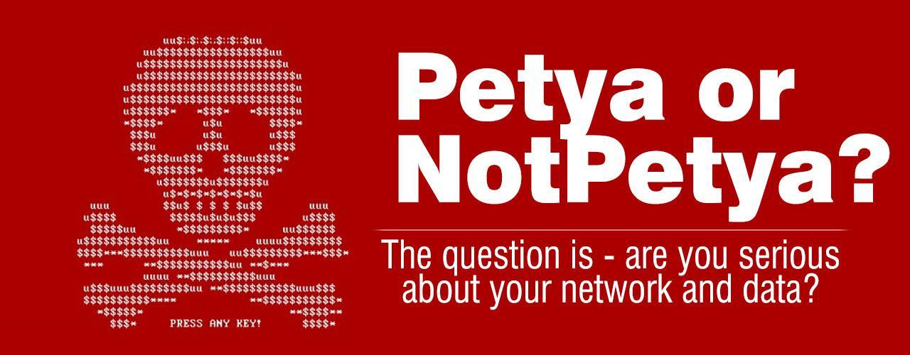 Petya Ransomware or Non-Petya Ransomware?